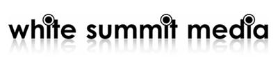 The White Summit Media logo, black text on white.